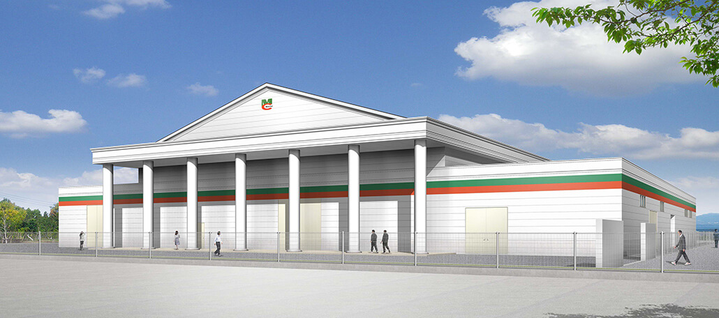第8工場 2021年10月完成予定